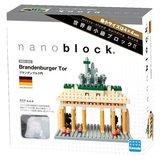 Nanoblock Monument - Brandenburger Tor Germany_