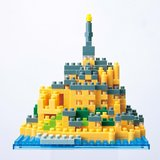 Nanoblock Monument - Mont Saint Michel France_