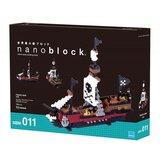 Nanoblock Vehicle - Pirate Ship_