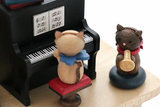 Wooderful Life Music Box – Kitty Cat Living Room Concert_
