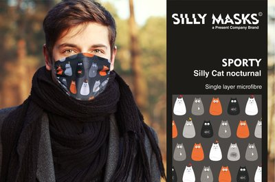 Silly Masks Sporty - Silly Cats Nocturnal