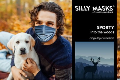 Silly Masks Sporty - Into the woods