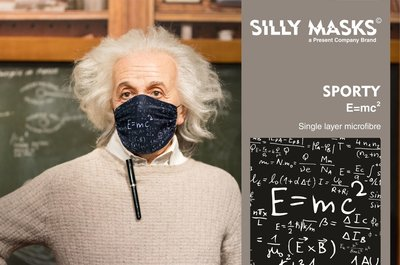 Silly Masks Sporty - E = mc²
