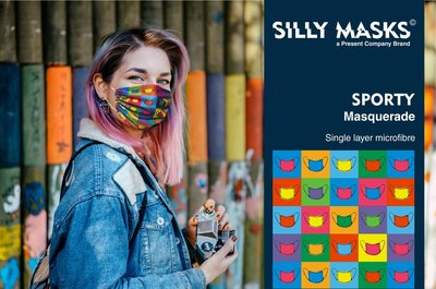 Silly Masks Sporty - Masquerade