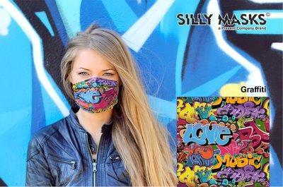 Silly Masks Sporty - Grafitti