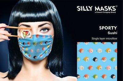 Silly Masks Sporty - Sushi