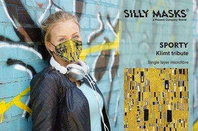 Silly Masks Sporty - Klimt tribute