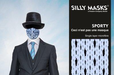 Silly Masks Sporty - Ceci n'est pas une masque