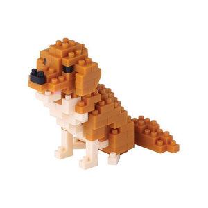 Nanoblock Dog - Golden retriever