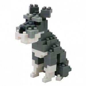 Nanoblock Dog - Schnauzer