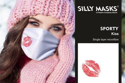Silly Masks Sporty - Kiss