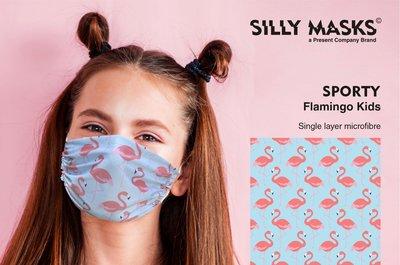 Silly Mask Sporty - Flamingo CHILDREN