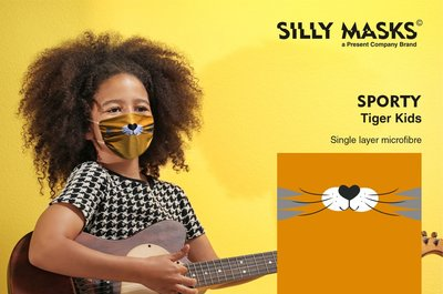 Silly Mask Sporty - Tiger CHILDREN