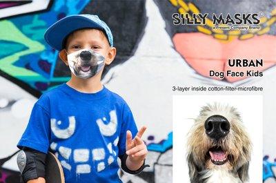 Silly Mask Urban - Dog Face CHILDREN