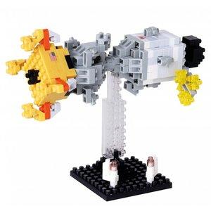 Nanoblock Vehicle - Lunar Landing