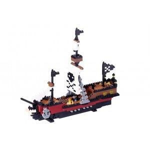 Nanoblock Vehicle - Pirate Ship