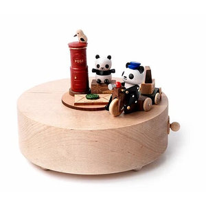 Wooderful Life Music Box – Panda Delivery Service