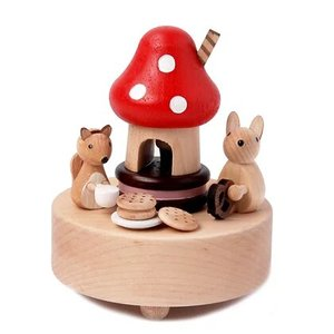 Wooderful Life Music Box – Forest Afternoon Tea