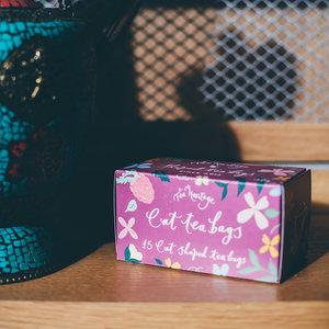 Tea Heritage Box - Pretty Cat Teabags